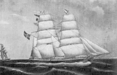 The Ship Atalanta: Moltzau Travel to America in 1867
